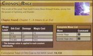 Cronos' Rage 1
