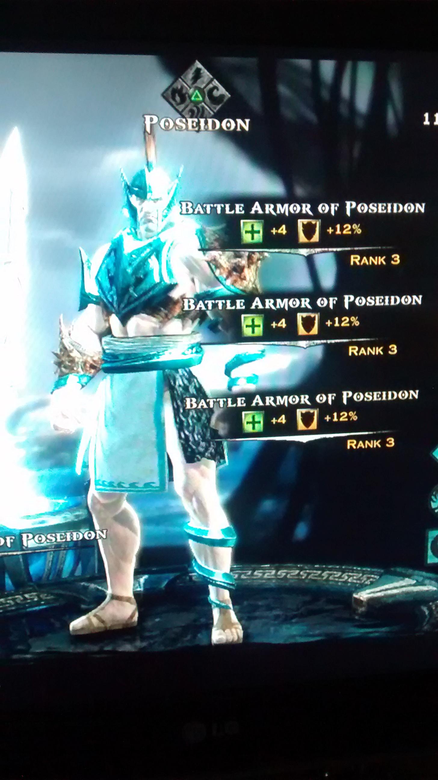 Battle Armor of Poseidon | God of War Wiki | Fandom ...