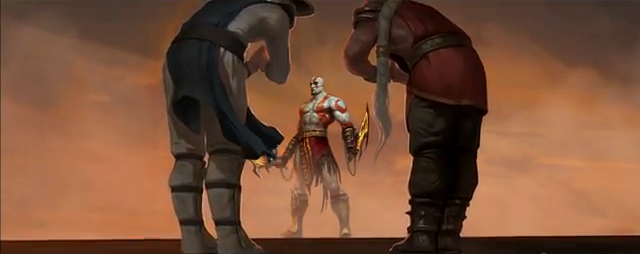 File:Kratos with Raiden and Fujin.PNG