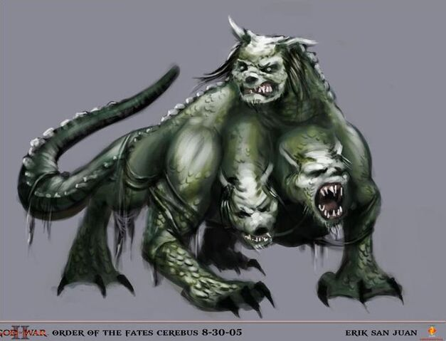 File:Cerberus God of War II Early Concept Art.JPG