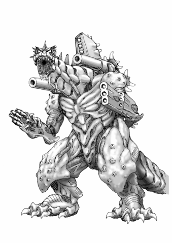 File:Concept Art - Godzilla Against MechaGodzilla - Kiryu 11.png