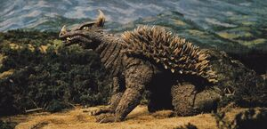 The SoshingekiAngira as it is seen in Destroy All Monsters