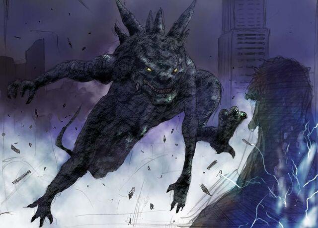 File:Concept Art - Godzilla Final Wars - Godzilla vs. Zilla.jpg