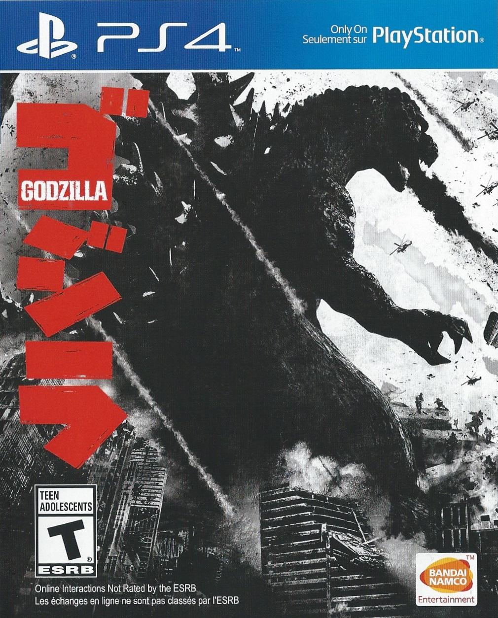 godzilla games list