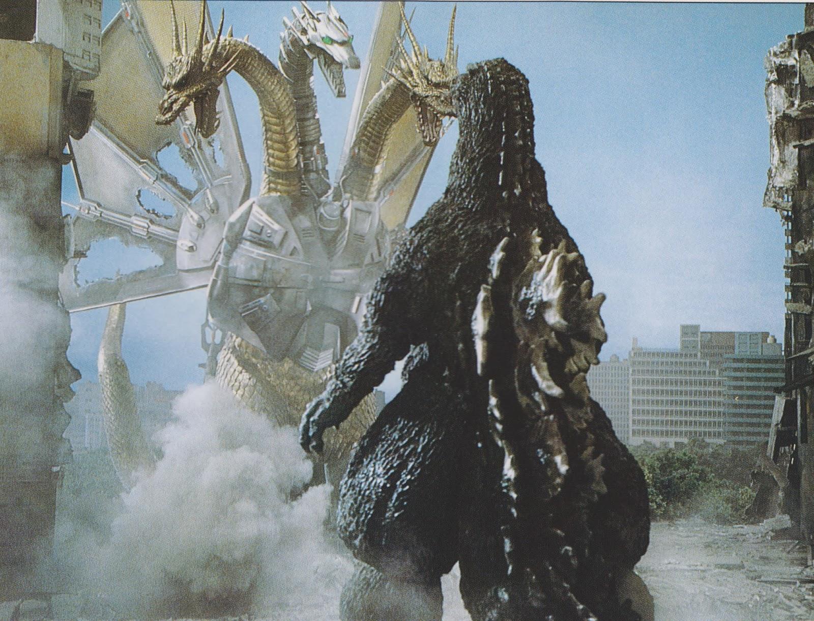 Godzilla Vs Mecha King Ghidorah FileGVKG - Godzilla Confronts