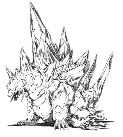 File:Concept Art - Godzilla vs. SpaceGodzilla - SpaceGodzilla 2.png