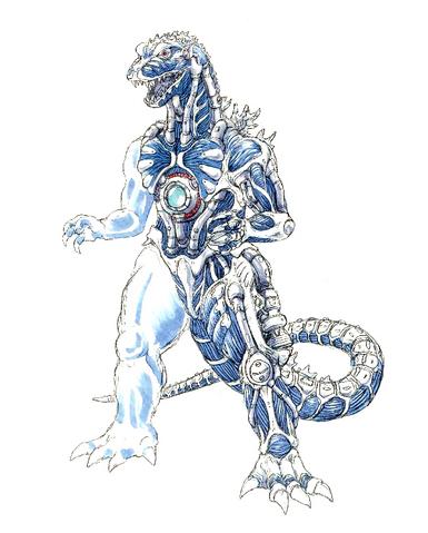 File:Concept Art - Godzilla Against MechaGodzilla - Kiryu 16.png