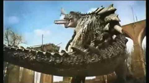 Godzilla PUB-SNCF Commercial