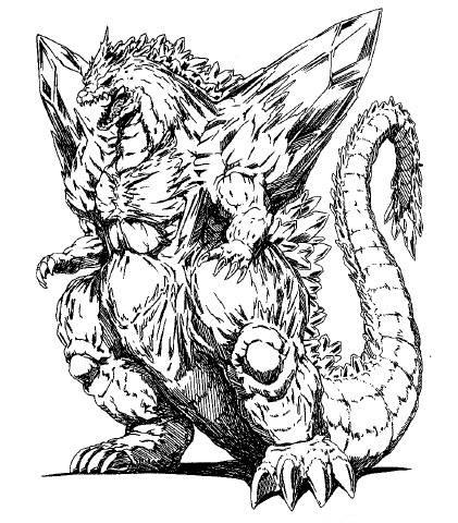 File:Concept Art - Godzilla vs. SpaceGodzilla - SpaceGodzilla 8.png