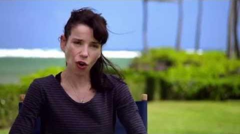 """Godzilla 2014 Sally Hawkins """"Vivienne Graham"""" On Set Movie Interview"""