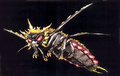 Concept Art - Godzilla vs. Mothra - Battra Imago 8