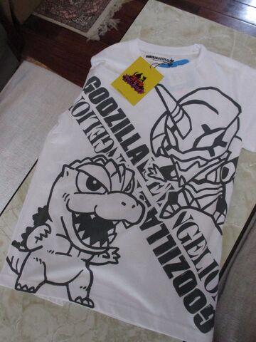 File:Godzilla vs Evangelion shirt.jpeg