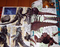 Godzilla Final Wars Hedorah and Ebirah Magazine