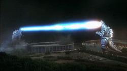 GVMG93 - Godzilla and MechaGodzilla lock beams