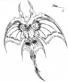 Concept Art - Godzilla vs. Destoroyah - Destoroyah 9