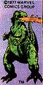 Monster Icons - Marvel Godzilla
