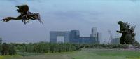 Godzilla vs. Megaguirus - Megaguirus against Godzilla