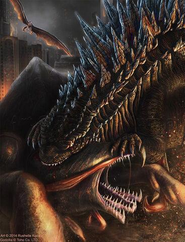 File:Godzilla vs Muto Awesome fanart.jpg