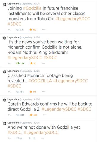 File:Legendary Godzilla 2 Tweets.png