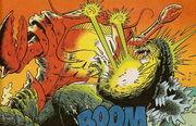 Godzilla vs Lord Howe Monster