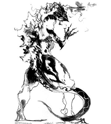 File:Concept Art - Godzilla Final Wars - Godzilla 3.png