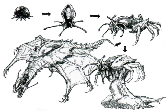 File:Concept Art - Godzilla vs. Destoroyah - Destoroyah Metamorphosis.png