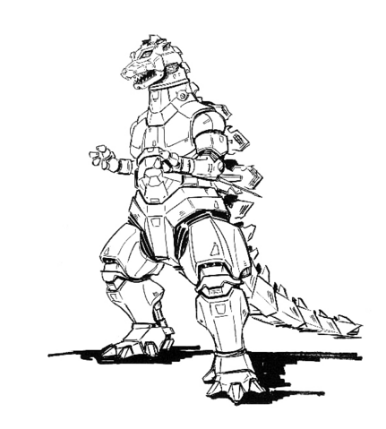 File:Concept Art - Godzilla Against MechaGodzilla - Kiryu 30.png