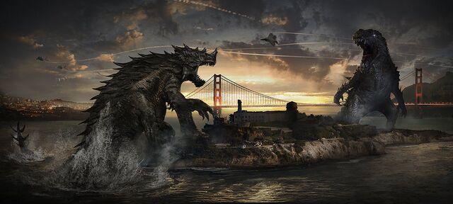 File:Frank Hong Early Godzilla 2014 Keyframe Art 2.jpg