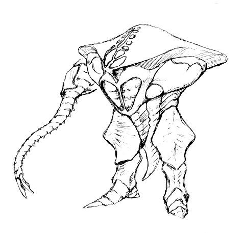 File:Concept Art - Godzilla 2000 Millennium - Orga 21.png