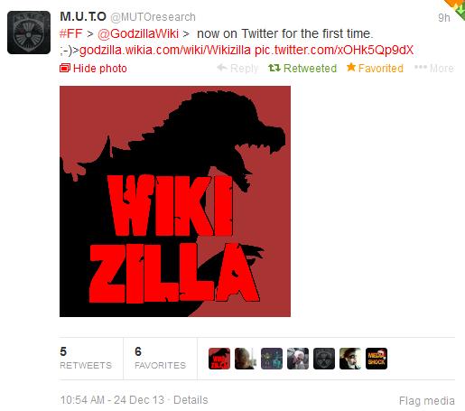File:MUTOresearch mentioned Wikizilla on Twitter!.png