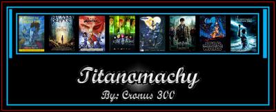 Titanomachy teaser fan poster