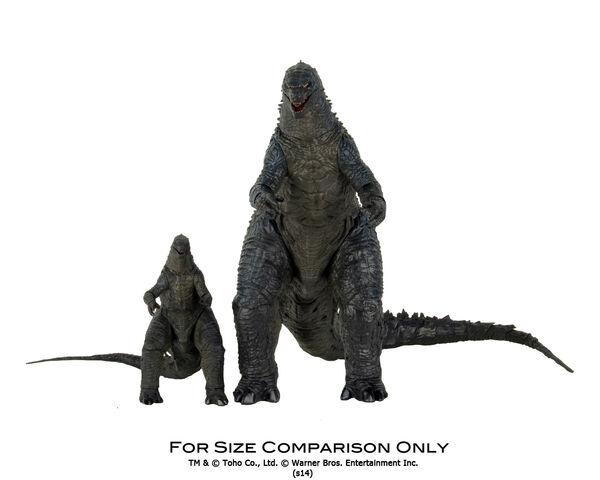 File:NECA Godzilla (6-inch) and NECA Godzilla (12-inch) Comparison 02.jpg