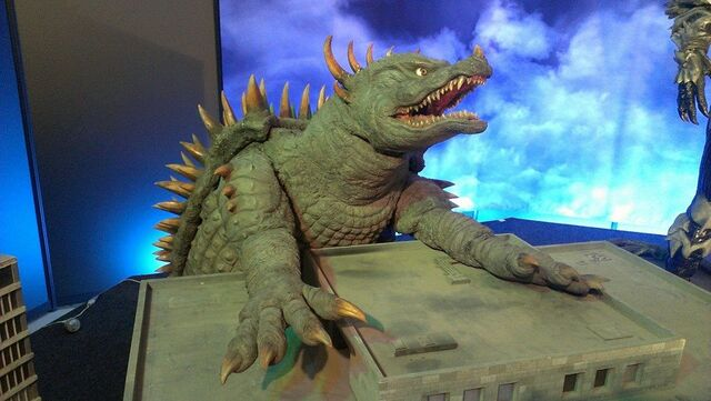 File:Great Godzilla 60 Years Special Effects Exhibition photo by Joseph Rouleau - FinalAngira 1.jpg