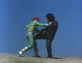 Go! Greenman - Greenman vs. Gaira - 41