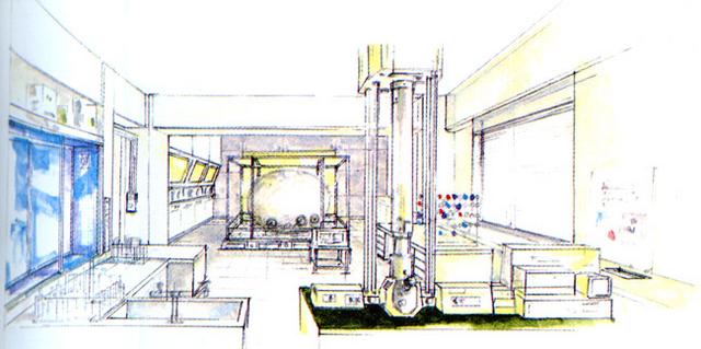 File:Concept Art - Godzilla vs. MechaGodzilla 2 - Egg Chamber.png