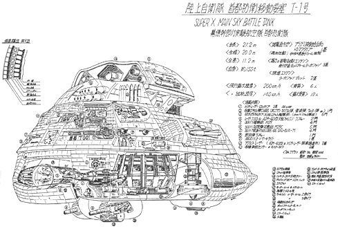 File:Concept Art - The Return of Godzilla - Super X 2.png