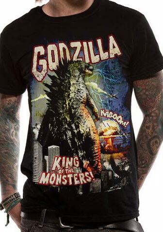 File:Godzilla 2014 Retro Poster Unisex T-Shirt.jpg