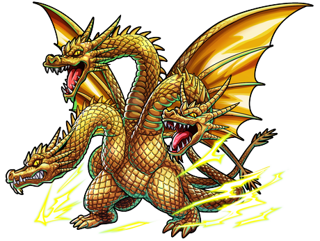 File:Godzilla X Monster Strike - King Ghidorah.png