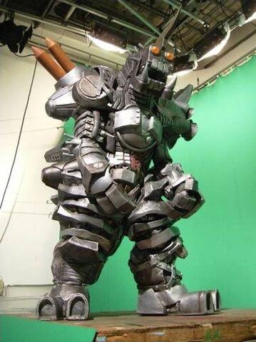 File:Garbage Monster suit behind the scenes.jpg