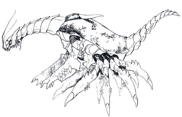 File:Concept Art - Godzilla vs. Destoroyah - Destoroyah 6.png