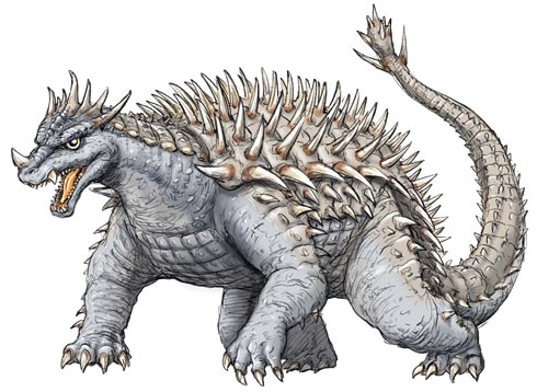 Anguirus Concept Art FileConcept Art - Godzilla