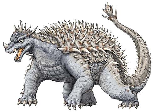 File:Concept Art - Godzilla Final Wars - Anguirus 1.png