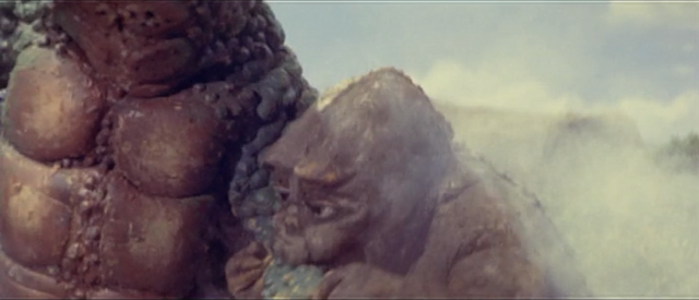 File:All Monsters Attack - Minilla likes eating Gabara.png