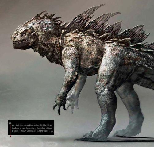 File:Concept Art - Godzilla 2014 - Godzilla 9.png