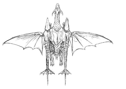 File:Concept Art - Rebirth of Mothra 2 - Dagahra 5.png