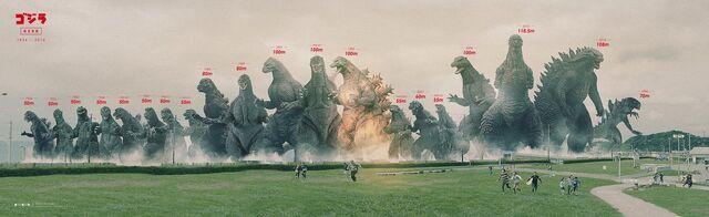 File:Updated Godzilla size chart.jpeg