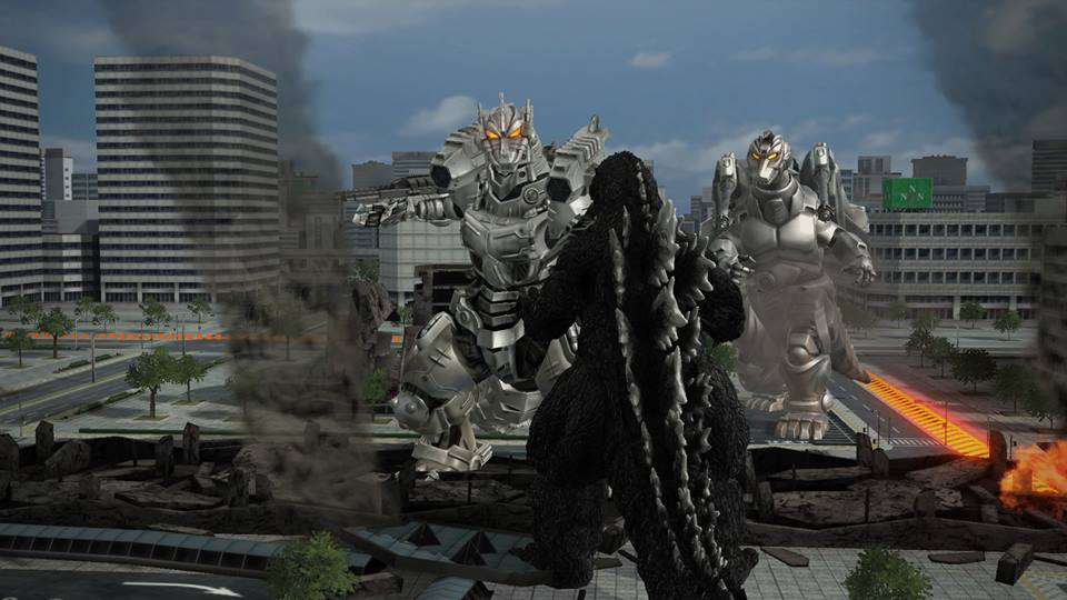 Image - PS4 Godzilla vs. Kiryu and Super MechaGodzilla.jpg ...