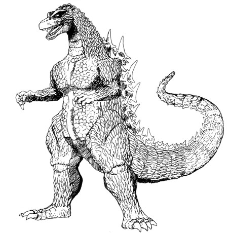 File:Concept Art - Godzilla vs. Destoroyah - Godzilla Junior 3.png