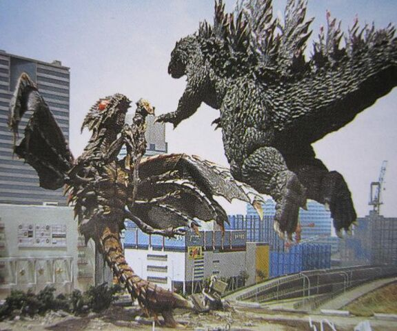 File:Godzilla Jumps On Megaguirus.jpg