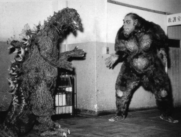 File:Oh My God! Godzilla -ShodaiGoji- and Snowman in 1955!.jpg